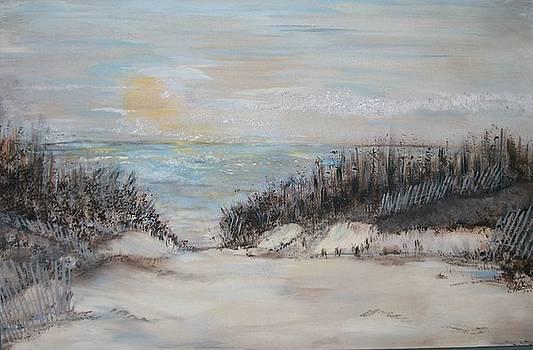 Summer Seashore by Cindy Watson