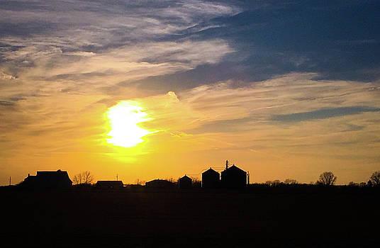 Summer Sunset on the Farm by Dan McCafferty