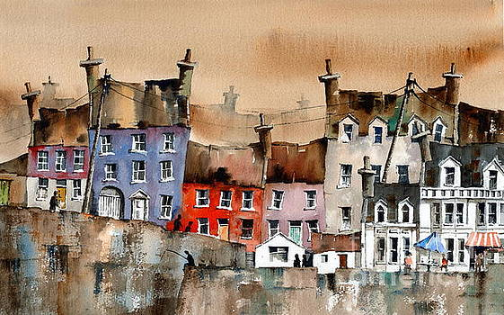CORK... Summercove, Kinsale. by Val Byrne