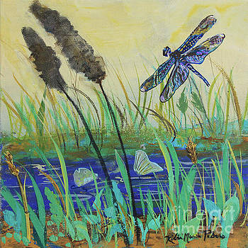 Summertime Dragonfly by Robin Maria Pedrero