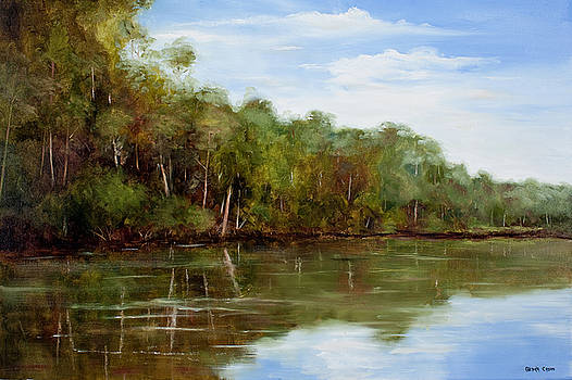 Summertime On The River by Glenda Cason