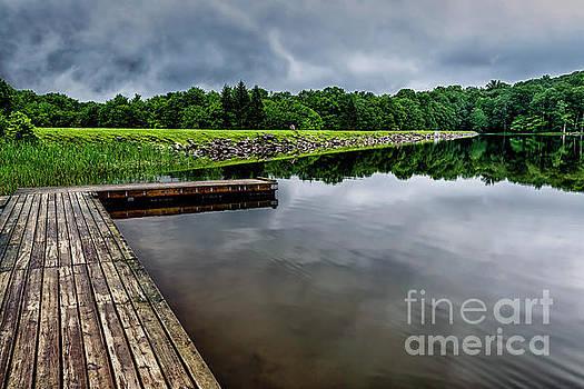 Summit Lake Dock and Dam by Thomas R Fletcher