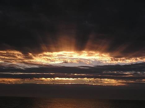 Sun Breaking Through by Diane Frick