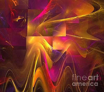 Sun Cube Waves by Kim Sy Ok