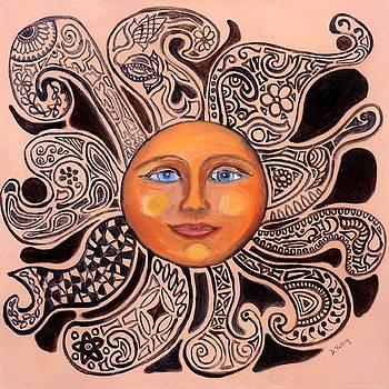 Sun Face by Donna Tuten