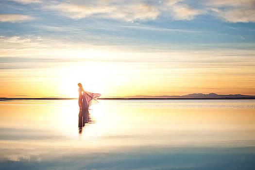 Sun Goddess Wide by Dario Infini