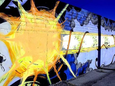 Sun Graffiti by Cat Jackson