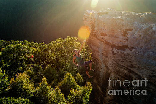 Sun kissed climber by Dan Friend