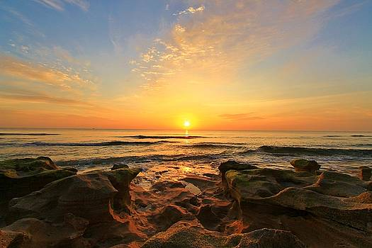 Sun on the Rocks by Catie Canetti