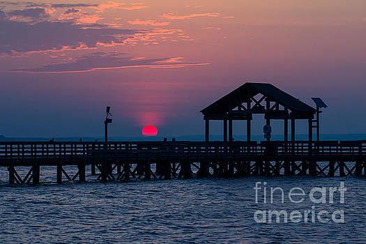 Alexander Butler - Sun Peeking over Pier 3