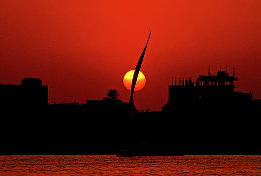 Sun set by Chaza Abou El Khair