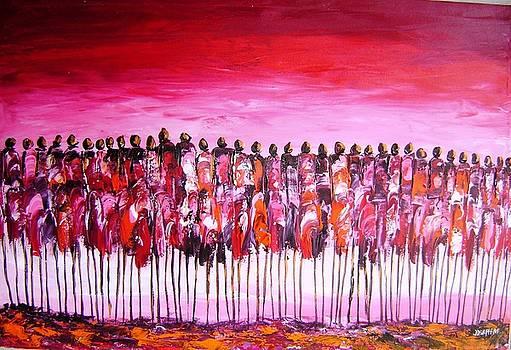 Sun Set Women Meeting by Joseph Muchina