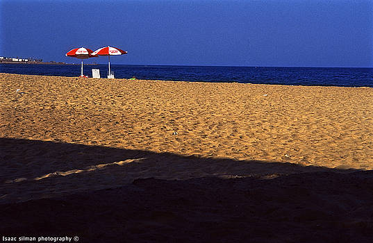 Isaac Silman - sun Shads in Sinai Egypt