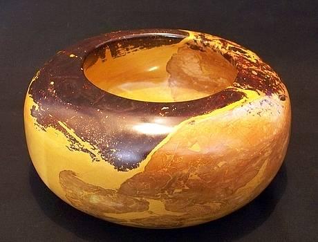 Sun Spot Bowl by Jason Nelson