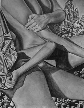 Sunbathing by Lori Miller