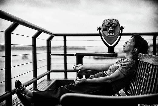 Sunbathing. by Reinhard Lampano