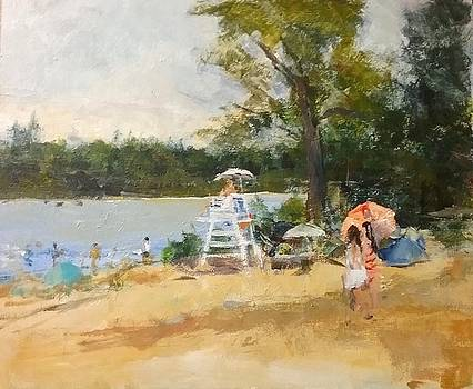 Sunday At The Lake by Joan Sicignano