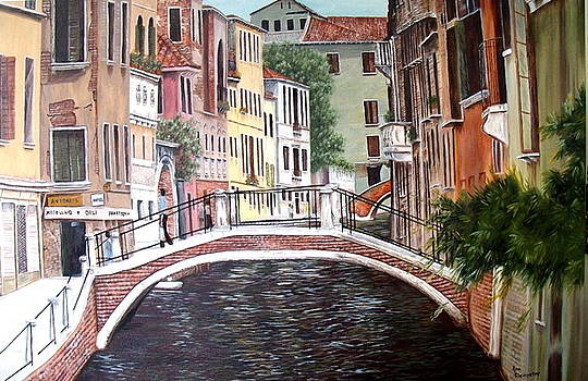 Sunday in Venice by Ann Kleinpeter