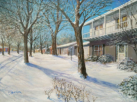 Sunday Morning Snow by Edward Farber