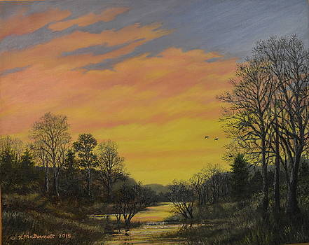 Sundown Glow by Kathleen McDermott
