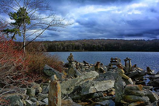 Sunfish Pond Along NJ's AT by Raymond Salani III