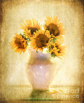 Sunflower Elegance by Linda Olsen
