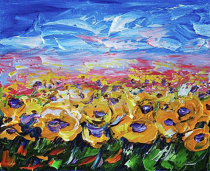 Sunflower Field  by Art OLena