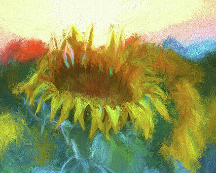 Sunflower Glow by Art OLena