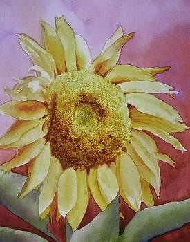 Sunflower I by Karla Horst