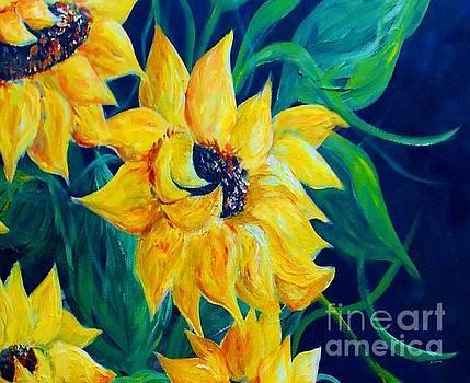 Sunflower Party by Eloise Schneider