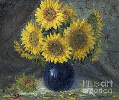Sunflower Still Life by Asa Gochenour