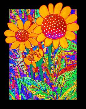 Sunflowers at the Chapel by Barbara Drake