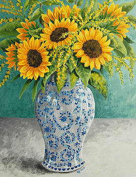 Sunflowers by Katharine Green