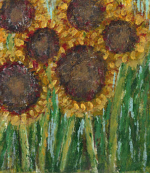 Sunflowers by Kristen Fagan