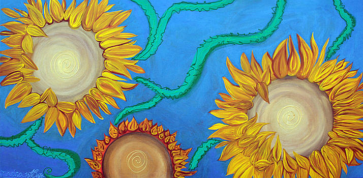 Sunflowers by Laura Barbosa