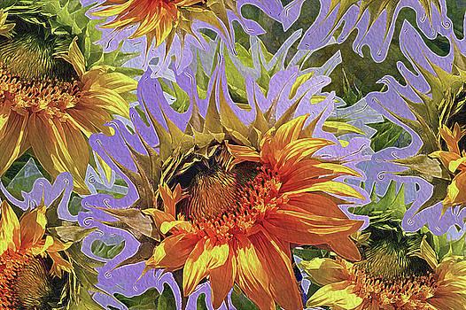 Lynda Lehmann - Sunflowers Rising 25