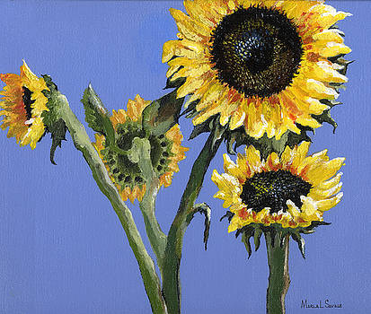 Sunflowers Two by Marla Saville