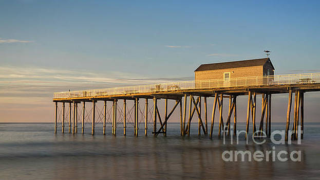 Sunlight on the Pier by Jerry Fornarotto