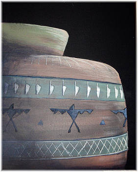 Sunlit Indian Pottery by Kenneth McGarity