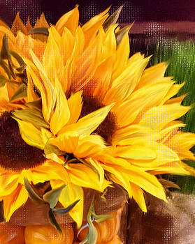Sunny Day Sunflower by Mary Timman