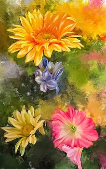Sunny Floral by Mary Timman