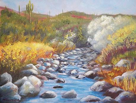 Sunny Morning On Cave Creek by Michael McGrath