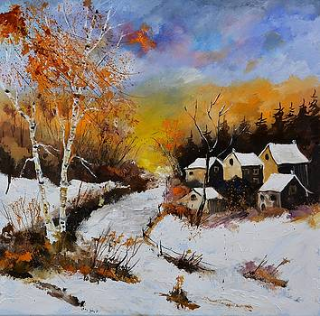 Sunny Winter Afternoon by Pol Ledent