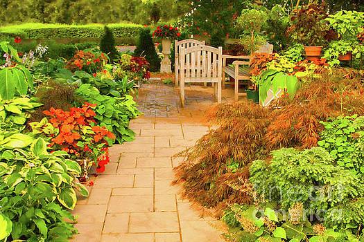 Sunnylea Garden by Marilyn Cornwell