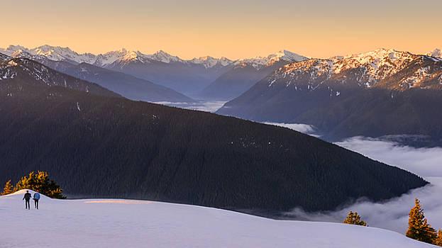 Sunrise Above the Clouds by Dan Mihai