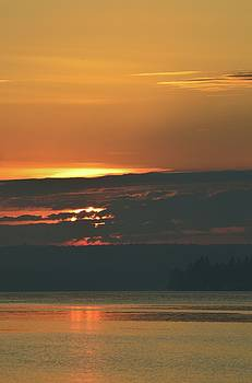 Sunrise Across The Bay by Lyle Crump