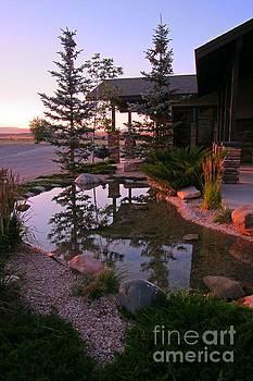 Sunrise at Cody Lodge by John Malone