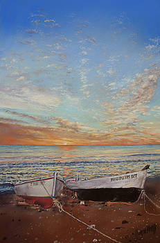 Sunrise at Las Negras by Margaret Merry
