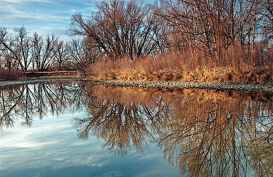 James Steele - Sunrise at River Bend Ponds