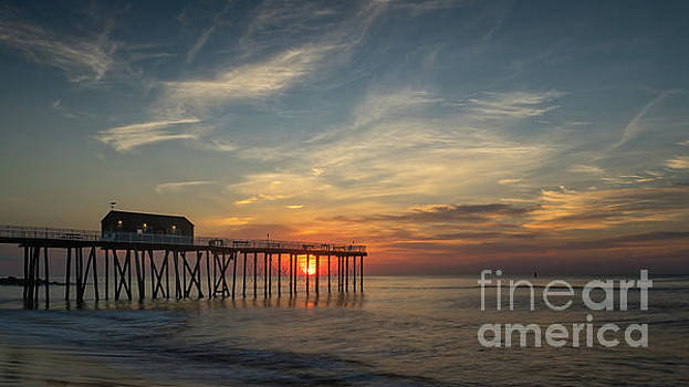 Sunrise at the Fishing Pier by Jerry Fornarotto